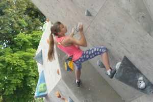 Каменец-Подольский приглашает на юношеские соревнования по скалолазанию
