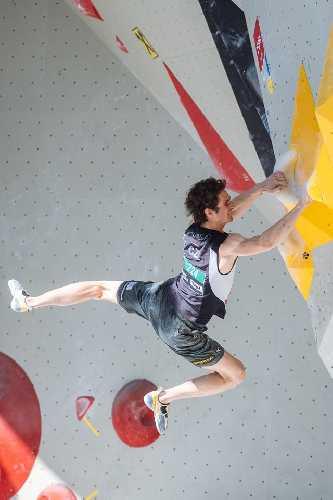 Адам Ондра (Adam Ondra) на Чемпионате Мира по скалолазанию 2018