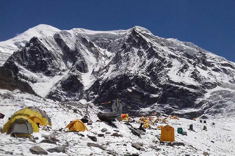 Базовый лагерь восьмитысячника Дхаулагири (Dhaulagiri, 8167 м), 2017 год. Фото: RSS