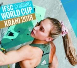 Штефано Гизольфи и Джейн Ким выигрывают этап Кубка Мира по скалолазанию в Крани. Украинские спортсмены завершили этап в полуфинале