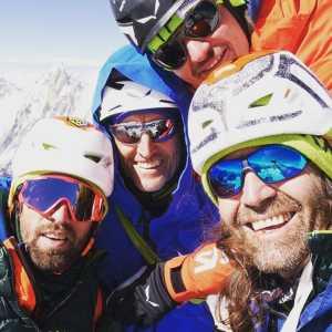 Томас Хубер завершает экспедицию на вершину горы Латок I в Пакистане