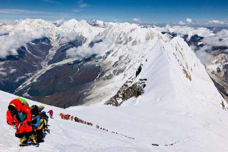 Восхождение на Манаслу. Фото Mingma David Sherpa