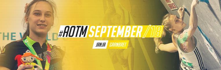 Янья Ганрбрет - спортсменка месяца по версии международной ассоциации Всемирных игр