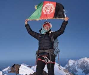 Быть альпинисткой в Афганистане: интервью с Ханифой Юсуфи