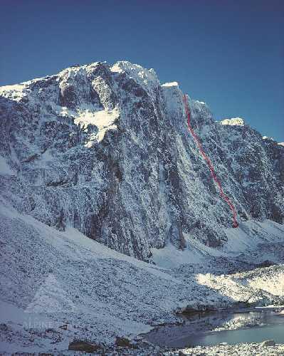 Маршрут «The Promise» на вершину горы Перси Смит (Percy Smith, 2465 м) в Новой Зеландии.