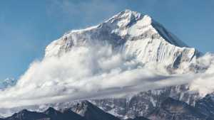 Причина гибели 9 альпинистов у горы Гурджа в Непале - ударная волна от обрушения серака