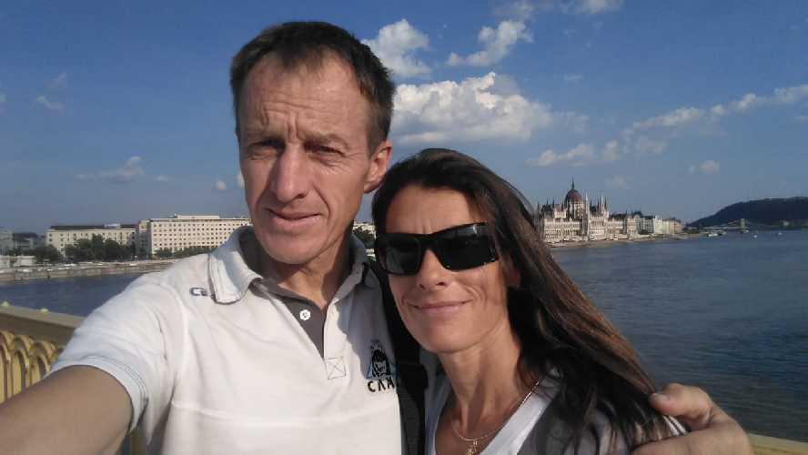 Денис Урубко и Мария Крделл (Maria Cardell) в Будапеште. Фото Денис Урубко