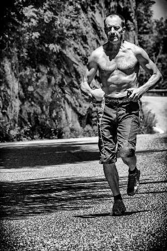 Денис Урубко на тренировке. Фото  Maria Cardell