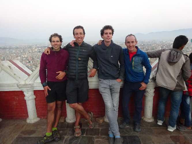Микель Забальза (Mikel Zabalza), Альберто Фернандес (Alberto Fernandez), Иньяки Аракуйстейн (Iñaki Araquistain) и Хосеба Ларраньяга (Joseba Larrañaga). Фото Mikel Zabalza