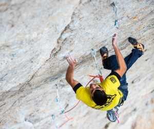 19-летний Хорхе Диас-Рулло проходит свой третий маршрут сложности 9а+: