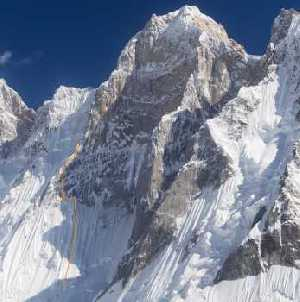 Попытка первого восхождения на вершину Баинта Бракк II Западная (Baintha Brakk W II) в Пакистане
