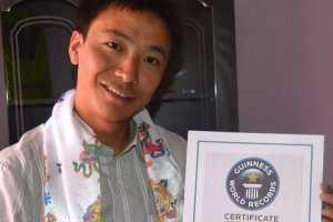 Бывший рекордсмен Эвереста, Пемба Дордже Шерпа лишился титула рекордсмена Книги рекордов Гиннеса