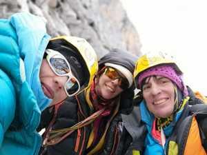 Женская команда открыла новый маршрут на непокоренный ранее пик Мугу на границе Непала и Китая