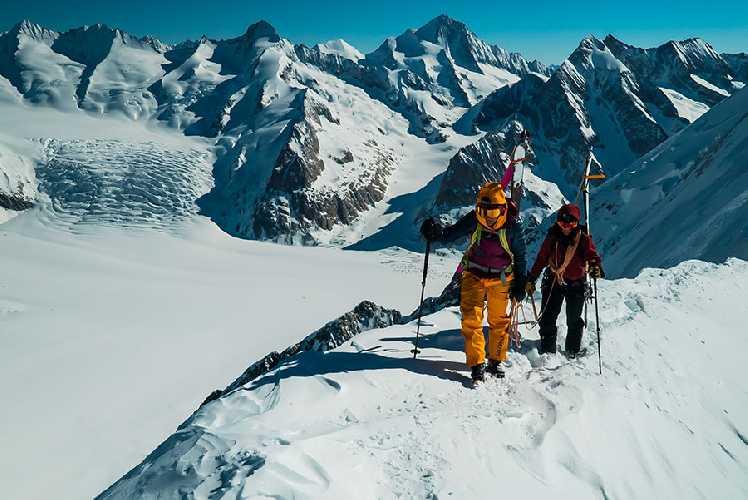 Лив Сансоз (Liv Sansoz): восхождение на четырёхтысячники Альп. Фото Liv Sansoz