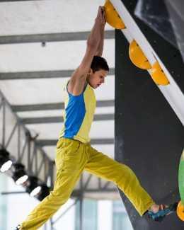 Чемпионат Украины по скалолазанию в Никополе: видеоколлаж с соревнований