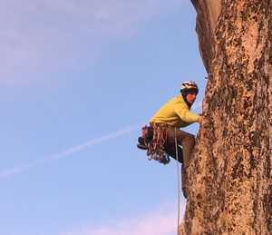 Пит Виттакер установил новый скоростной рекорд в прохождении больших стен Хаф-Доум и Эль-Капитан
