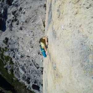Итальянский скалолаз Але Зени проходит свою первую категорию 9а+ открыв новый маршрут