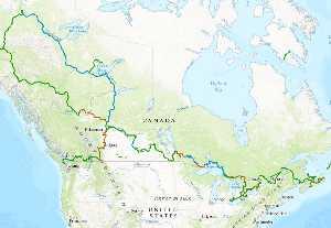 Самый длинный туристический маршрут в мире: Трансканадский трейл (Trans Canada Trail)