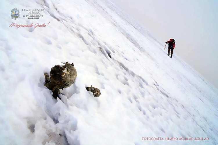 Найденные мумии на вулкане Орисаба