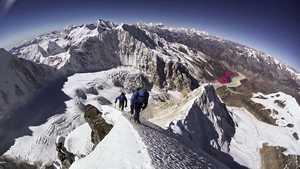 Второе восхождение на непальскую вершину Химжунг (7092 м) по новому маршруту