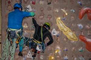 В Киеве прошли главные соревнования города по альпинизму на искусственном рельефе: