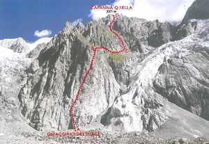 На Монблане реконструируют маршрут восхождения с итальянской стороны