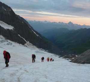 Альпинисты Днепропетровской области стали победителями Чемпионата Украины среди ветеранов (в классе большие горы)