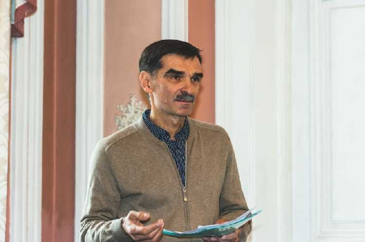 Председатель тренерского совета ФАиС Украины Копейка В. Фото Станислава Яндульского