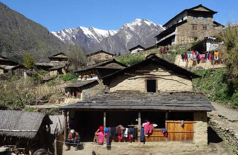 Гостевой дом в непальской деревне. Фото Nepali Times