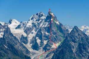 Ушба – мечта и жизнь альпиниста: Ушба южная