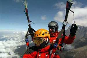 Возрождение проекта парапланерных полётов с гор по списку