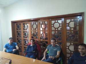 Команда Даниэля Нарди прибыла в Пакистан
