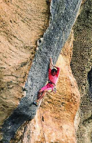 """22-летний Андреа Галло (Andrea Gallo) на маршруте  """"Hyaena"""". 1986 год. Фото Andrea Gallo"""