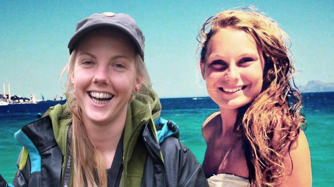 Убитые туристки: Марен Уланд (Maren Ueland, 28 лет) и Луиза Вестеражер Йесперсен (Louisa Vesterager Jespersen,28 лет)