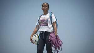 Карина Дайондон стала первой альпинисткой из Филиппин, которая прошла задачу