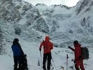 Команда Даниэля Нарди установила первый высотный лагерь на Нангапарбат