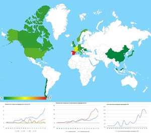 Инфографика развития скалолазания по состоянию на 2020 год