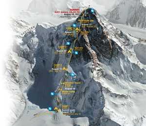 Алекс Тикон планирует первый в истории альпинизма траверс восьмитысячника К2 летом 2019 года!