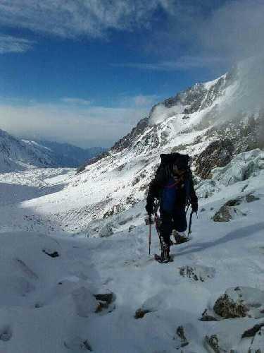 Экспедиция Даниэля Нарди на Нангапарбат. Восхождение к первому высотному лагерю. Фото Daniele Nardi