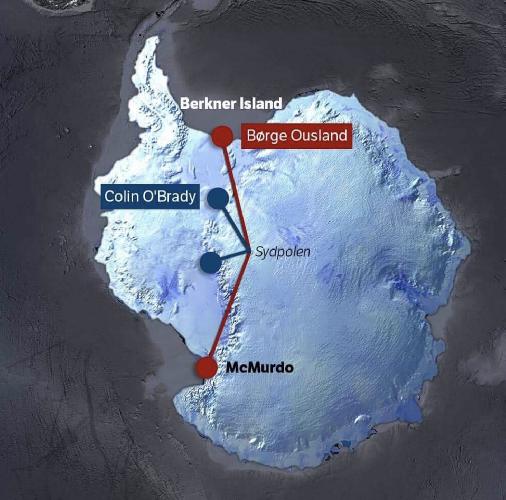 Сравнение маршрутов Колина О