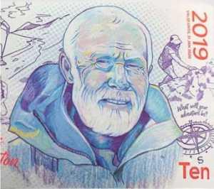 На 10-фунтовой банкноте будет изображен портрет знаменитого британского альпиниста сэра Криса Бонингтона