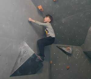 В Каменце-Подольском прошли первые в 2019 году скалолазные соревнования: