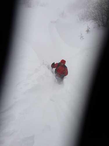 Поиски пропавшего туриста Игоря Грищенко. Фото Евгений Чизмар