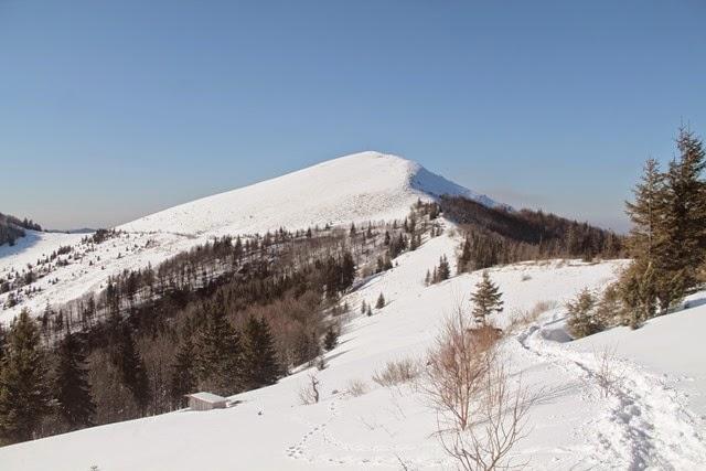 горе Парашка (1268 м)