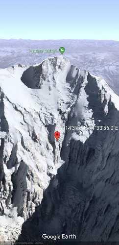 Отметка 6200 метров по маршруту Даниэля Нарди. 16 января 2018 года