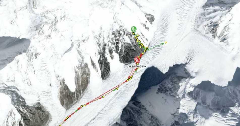 Положение Международной зимней экспедиции на К2. 19 января 2019 года