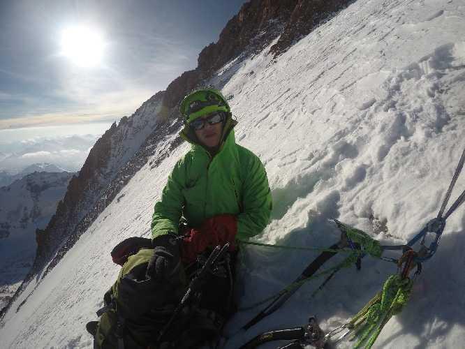 восхождение киевских альпинистов на Казбек. Фото Александр Корец