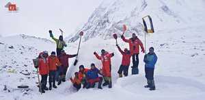 Зимняя экспедиция на К2 Алекса Тикона: о пользе иглу в базовом лагере