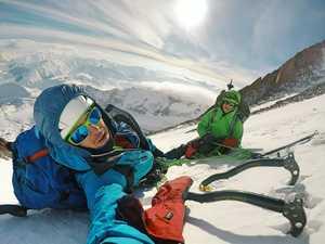 На грани фола: восхождение на Казбек зимой по маршруту 3Б