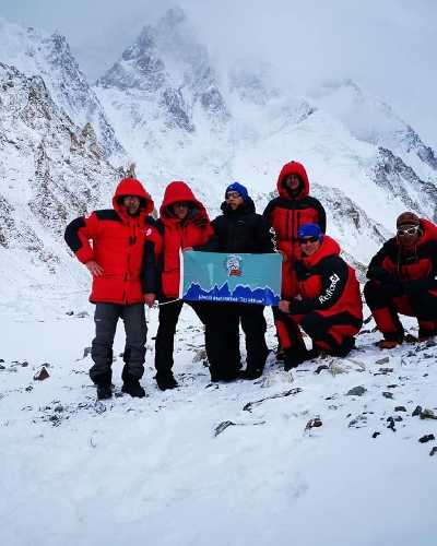 Фото K2 winter climb 2019